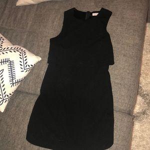 Title black dress.